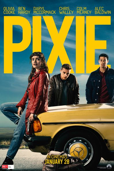 Olivia Cooke, Ben Hardy and Daryl McCormack star in Pixie