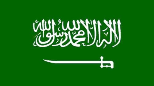The flag of Saudi Arabia bears the sword and the Shahada. (Supplied)