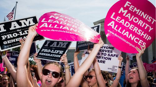 US Supreme Court strikes down restrictive Texas abortion laws