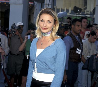 Cameron Diaz at the <em>Batman Forever</em> premiere in California, June, 1995