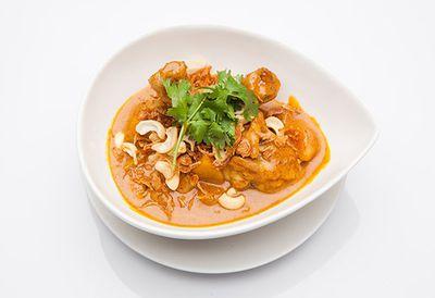 Rice cooker massaman chicken curry