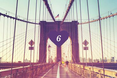 <strong>6.&nbsp;Brooklyn Bridge, New York</strong>