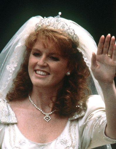 The York tiara Sarah Ferguson, Duchess of York wedding