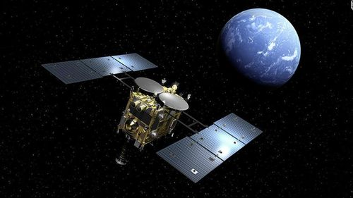 Japanese space agency JAXA will land the Hayabusa 2 probe on the surface of an asteroid.