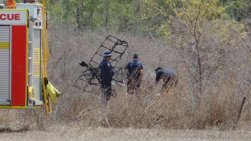 Pilot killed in light plane crash at Woodstock south of Townsville