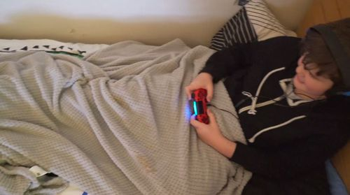 Logan has stopped going to school as his gaming obsession continues.