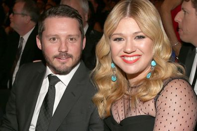 "Kelly Clarkson used social media to break her nuptial-news! <br/><br/>She tweeted in 2013: ""I'm officially Mrs Blackstock. We got married yesterday at Blackberry Farms in TN, the most beautiful place ever!""<br/><br/>We hear the blushing bride wore a wedding dress by Temperley London, and exhanged vows in front of a small group of family and friends. <br/><br/><br/><br/>"