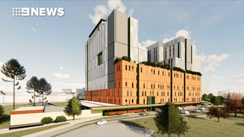 The $1 billion redevelopment of Sydney's Nepean Hospital has began after being fast-tracked.