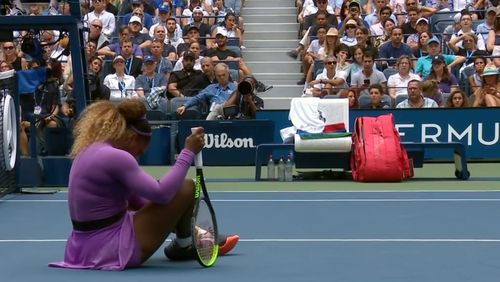 US Open 2019: Serena Williams overcomes scary rolled ankle
