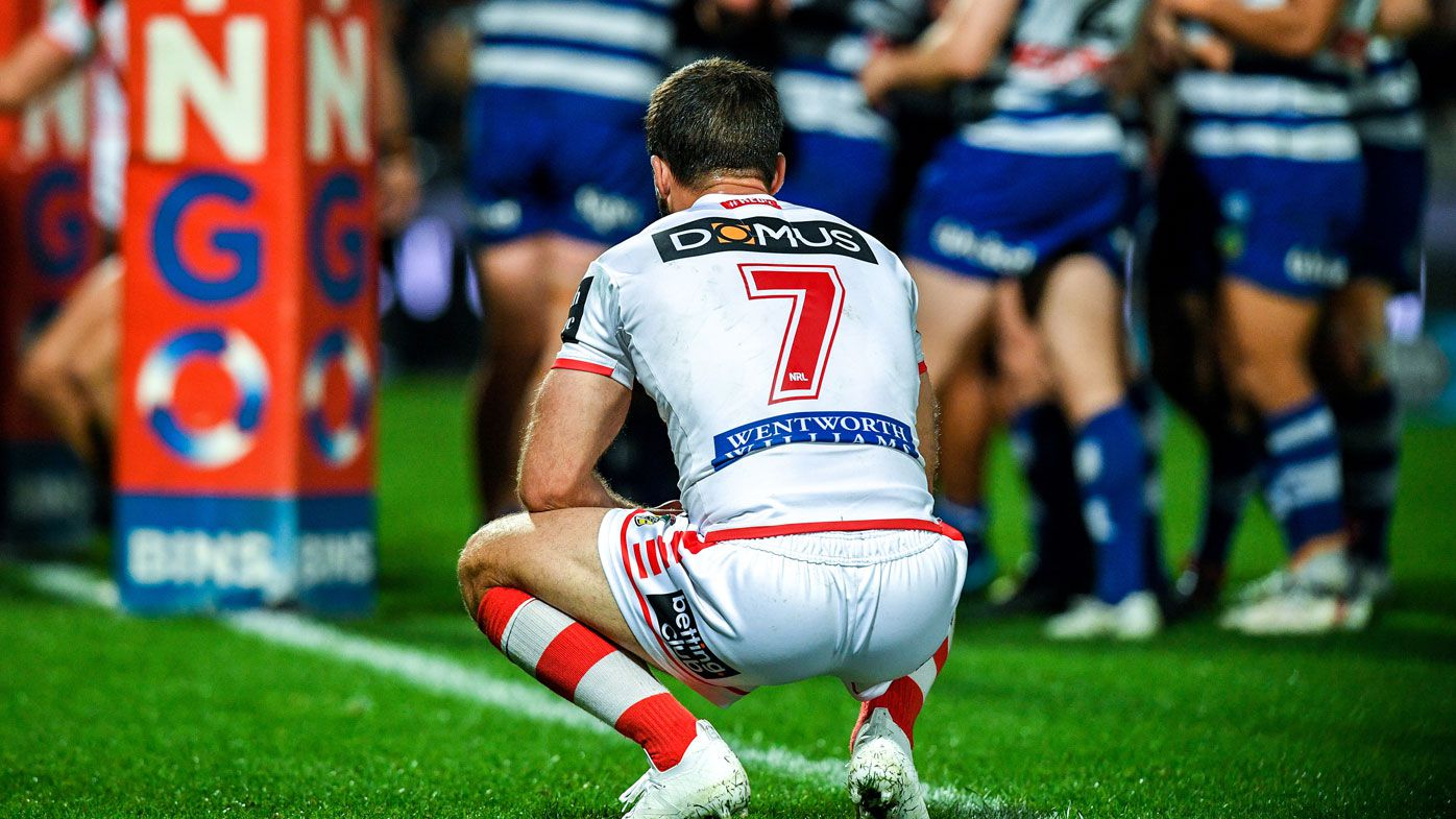 Ex-NRL star Craig Wing says Ben Hunt gave up on Dragons in Bulldogs loss