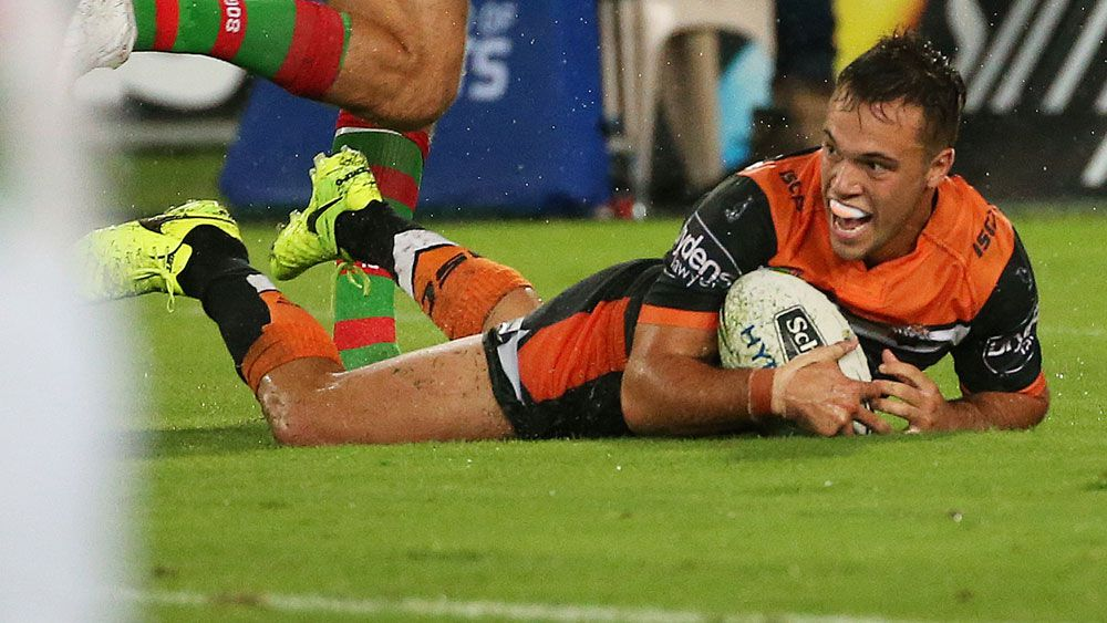 Tedesco fires Tigers to Souths NRL rout
