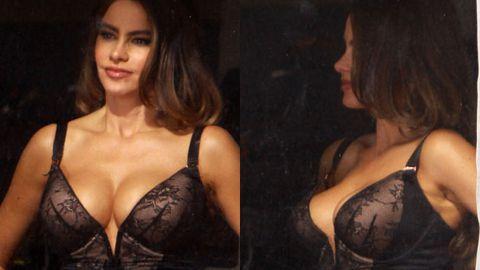 Bra-vo! Sofia Vergara dresses as bisexual prostitute