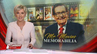 Mr Movies' memorabilia up for auction