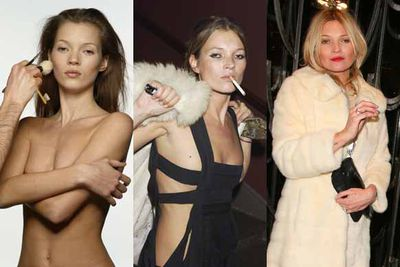 Happy birthday, Kate Moss! The beauty turned 40 on January 16, 2014, and well, it's only natural for TheFIX to take a trip down memory lane. And jeeze, what a memory lane it is, littered with wild parties, rogue boyfriends and that cocaine scandal. Check it out!