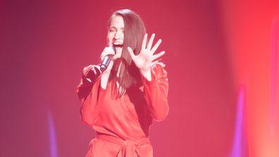 Emma Mylott as seen on The Voice 2020