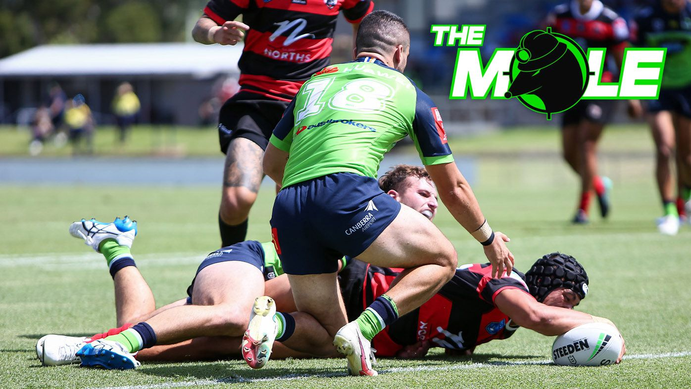 Joseph Suaalii shows stellar signs of what's to come in NRL pre-season trial with North Sydney Bears