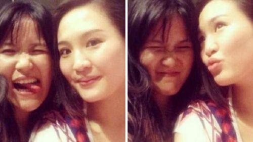 Jessica Kumala Wongso (left) and her best friend and victim Wayan Mirna Salihin.