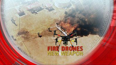Fire drones