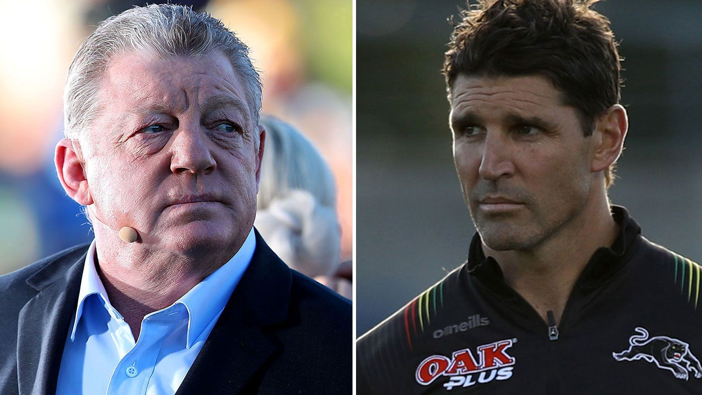 Phil Gould has urged Trent Barrett to reconsider his impending position with the Bulldogs.