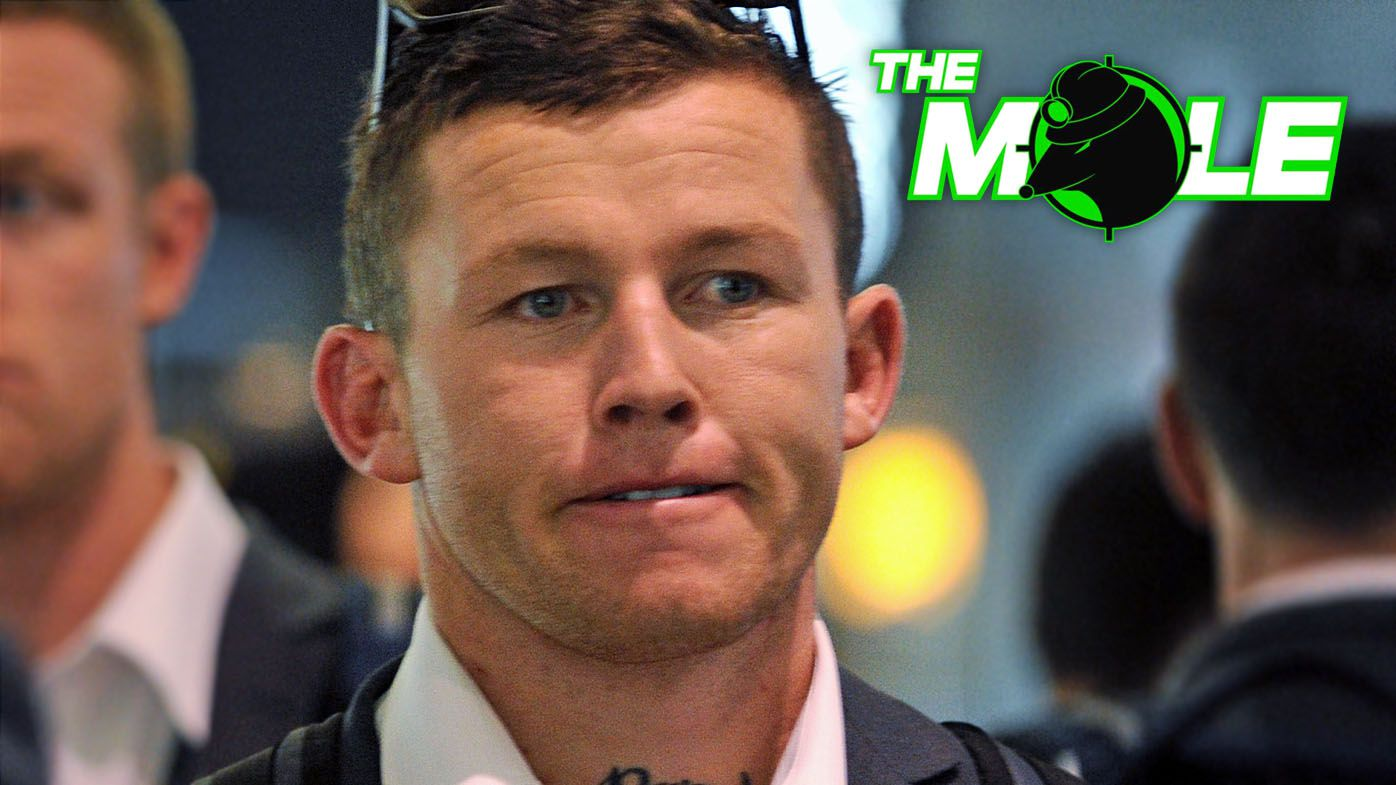 The Mole: Todd Carney travels to Sydney to fast-track NRL registration