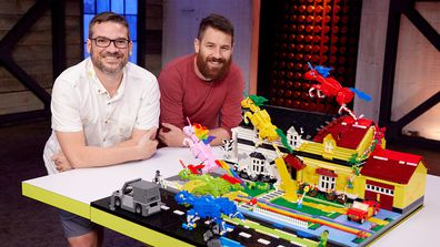 LEGO Masters 2021 Colour Your World David and Gus