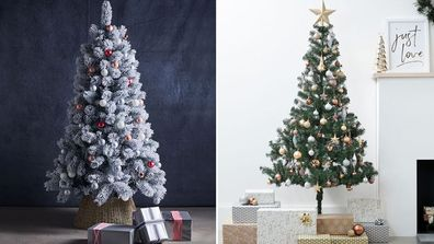 A roundup of some of the best Christmas trees under $100