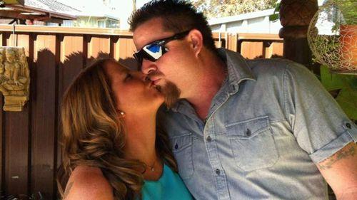 Lindsey Day with his partner Vanessa Wainwright.