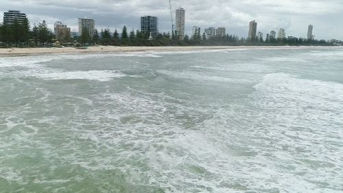 Ocean swells of up to three metres are expected today and hazardous surf warnings have been issued for parts of the state (9NEWS).