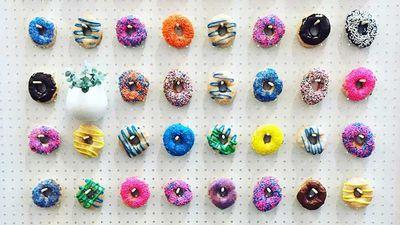 9. Donut wall