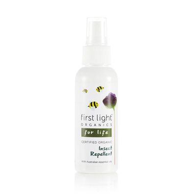 "<a href=""https://www.firstlightorganics.com.au/products/insect-repellent"" target=""_blank"" draggable=""false"">First Light Organics Insect Repellant, $24.95.</a><br />"