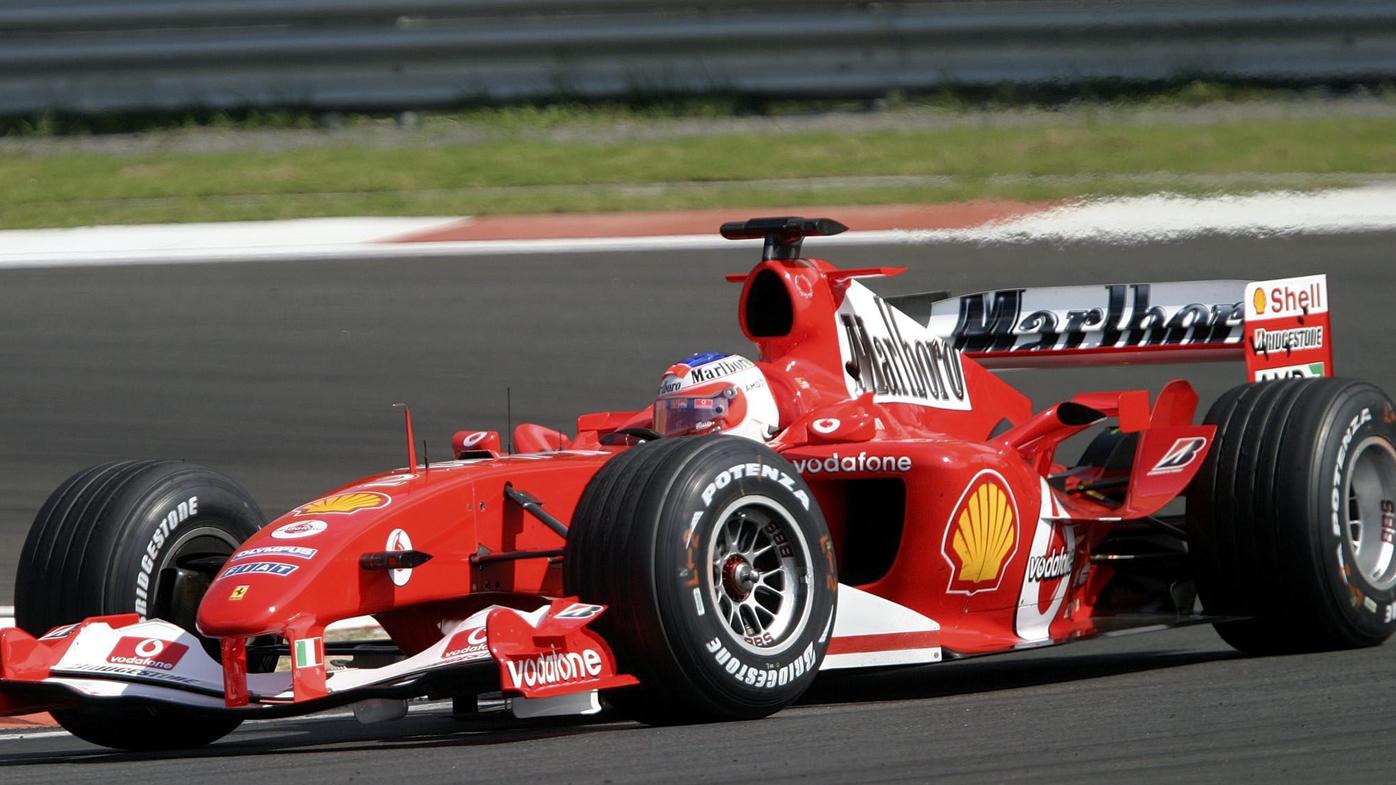 Michael Schumacher's 2004 Ferrari