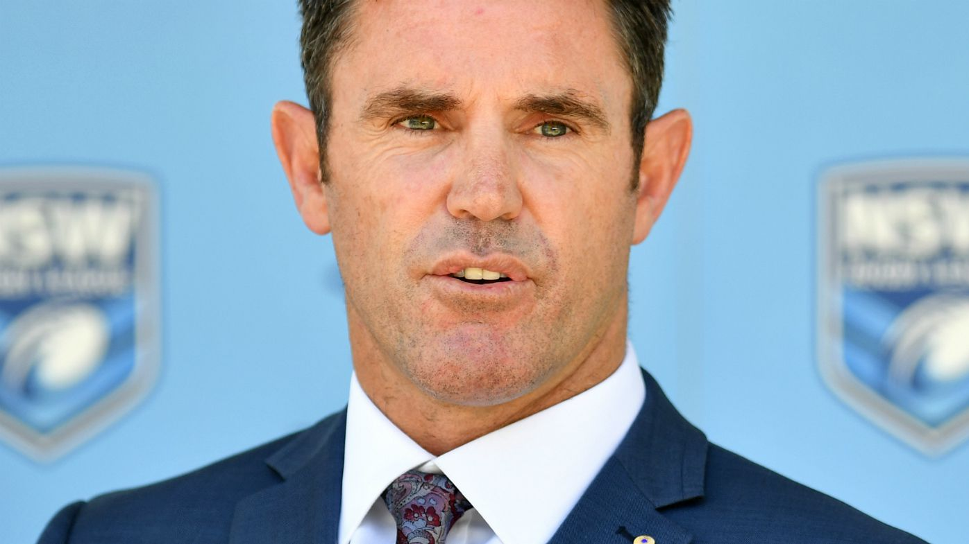 Brad Fittler at state of origin launch