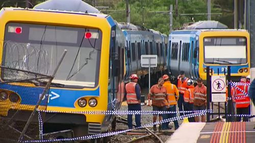 Man charged over Melbourne train derailment and string of arson offences