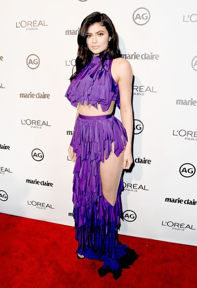 Kylie Jenner at Marie Claire's Image Maker Awards  January 2017