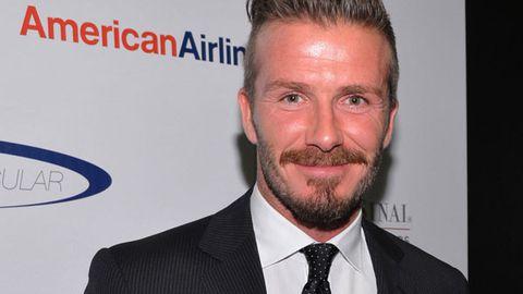 David Beckham- doting father