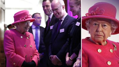 Queen Elizabeth visits the Royal Institution of Chartered Surveyors, November 2018