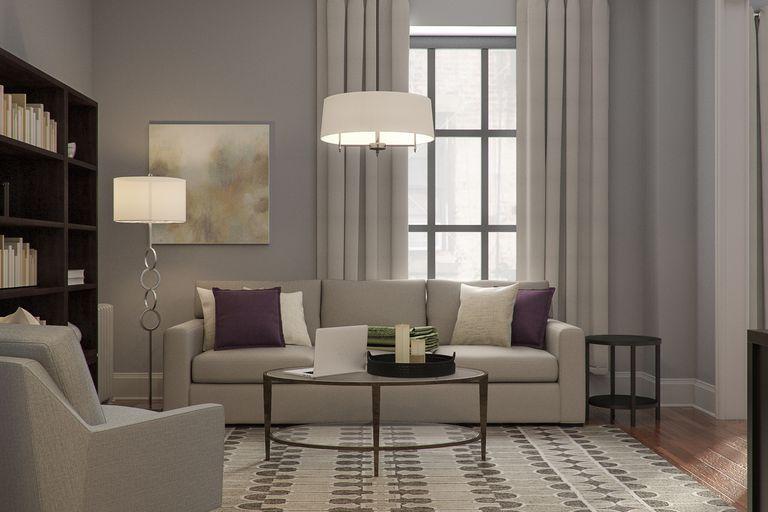 Miranda Hobbes' straightforward modern apartment