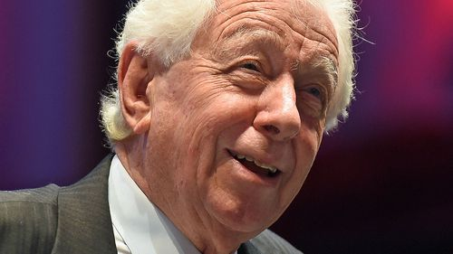 Westfield founder Frank Lowy was fifth on the list, with a total wealth of $8.42  billion. Picture: AAP.