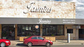 Jasmins Lebanese restaurant in Liverpool.