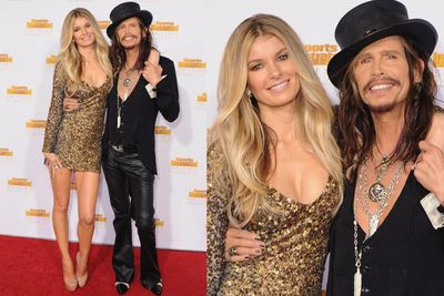 Former Victoria's Secret Angel with Aerosmith frontman