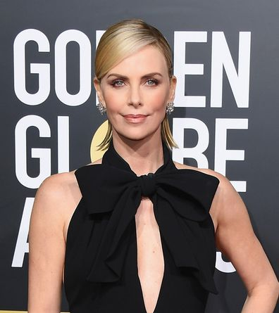 Golden Globes, Charlize Theron, presenting