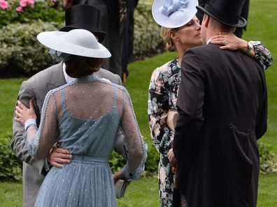 Awkward moment between royals at Royal Ascot