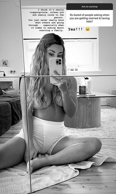 MAFS Martha Kalifatidis Instagram Q and A