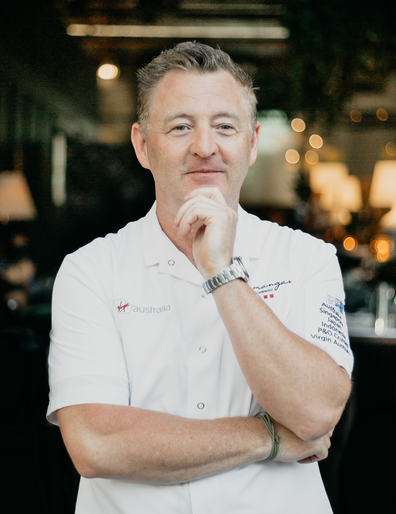 P&O chef Luke Mangan