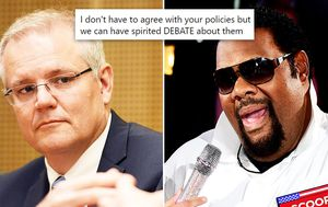 'What's the problem, it's a fun party song': Fatman Scoop quizzes Scott Morrison's decision to pull 'inappropriate' hip hop mashup video