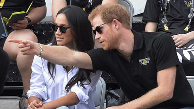 The Duke and Duchess of Sussex making their first public appearance at the Invictus Games in Canada.