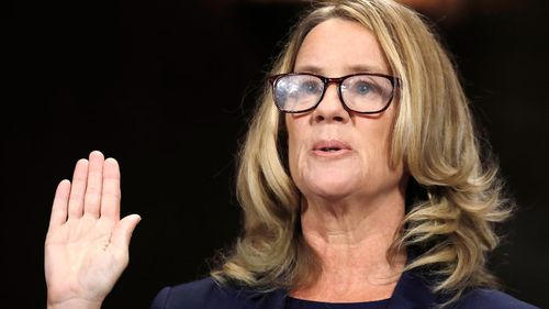 Christine Blasey Ford told a Senate Judiciary Committee of the alleged sexual assault which she said had been seared into her memory and had haunted her.