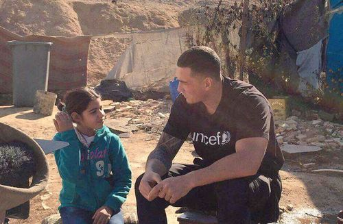 Sonny Bill Williams' graphic refugee images cross the line for Unicef