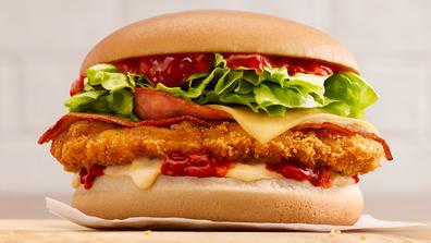 McDonald's Parmi Burger