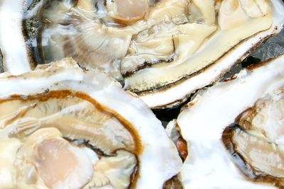 Oysters: 144mcg of iodine in a six-oyster serve